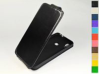 Откидной чехол из натуральной кожи для Xiaomi Redmi Note 7