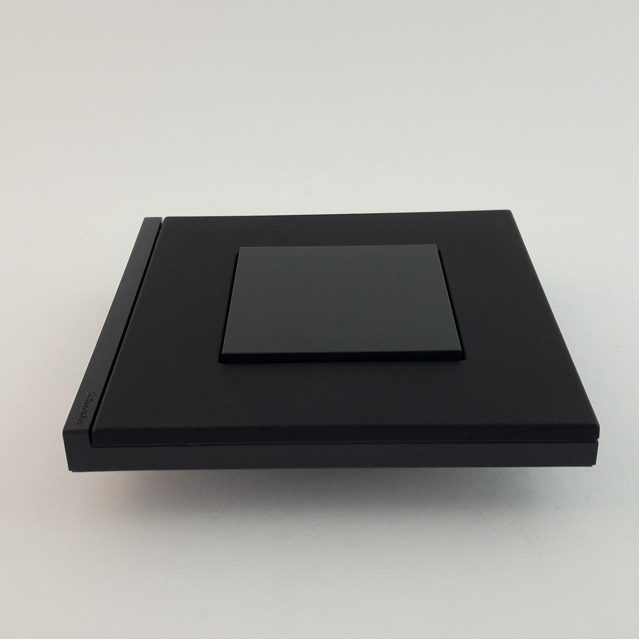 Рамка 2 постовая вертикальная Unica Pure, каучук, 2х2 модуля