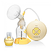 Електричний молоковідсмоктувач Medela Swing + соска Calma (030.0042)