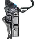 Кобура оперативная кожаная для пистолета ТТ  + есть  скоба (для скрытого ношения), можно носить на поясе, фото 2