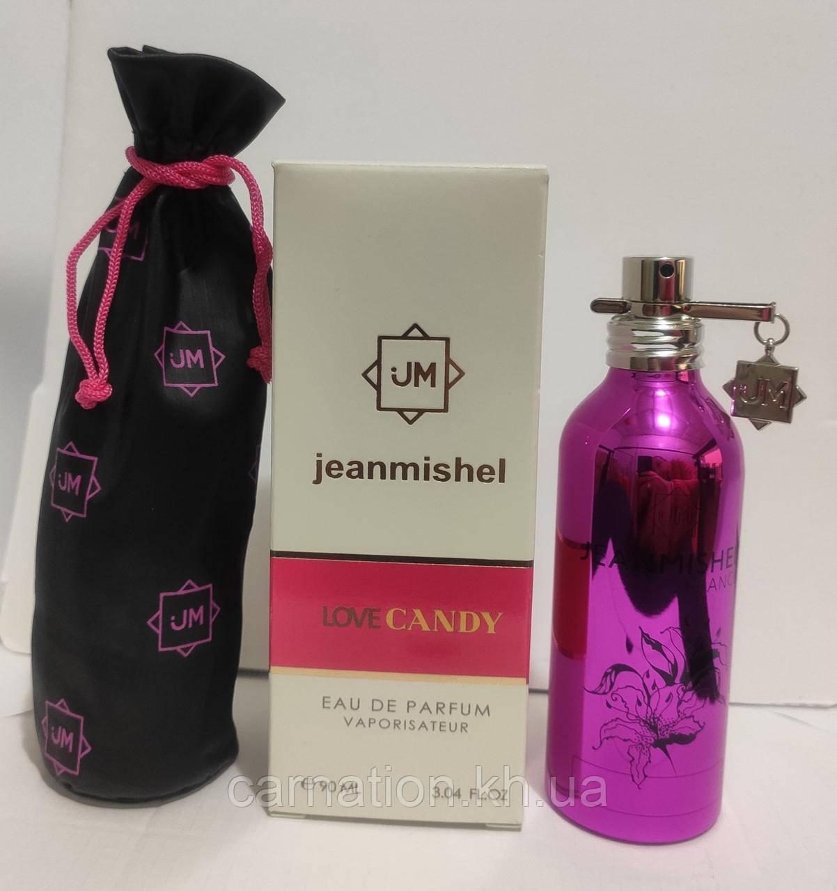 Жіноча парфумована вода Jeanmishel LoveCandy 90 мл