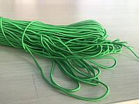 """Резинка-шнурок 2 мм «Зелёный"""""""