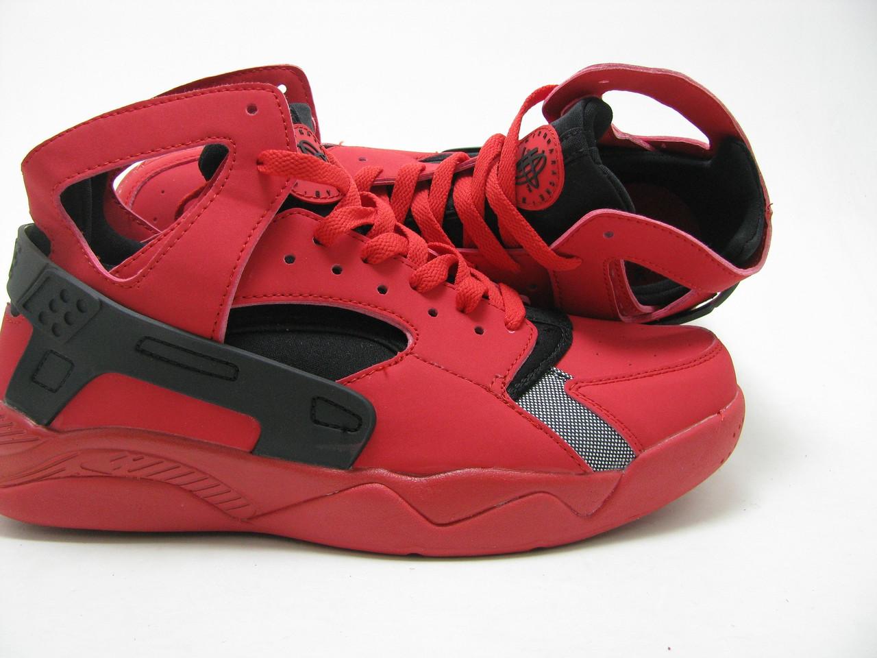 01ebd0e2656a Мужские баскетбольные кроссовки Nike Air Flight Huarache PRM QS красные -  Shoes-intime в Харькове