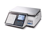 Весы торговые с печатью этикетки CAS CL-3000 B