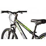 """Велосипед IMPULS RIO 24"""" чорно-салатовий Рама 12"""" 2020р, фото 2"""