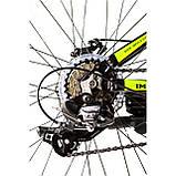 """Велосипед IMPULS RIO 24"""" чорно-салатовий Рама 12"""" 2020р, фото 4"""