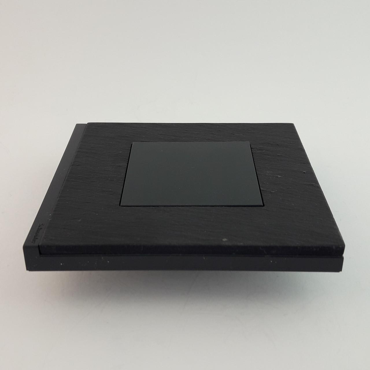 Рамка 3 постовая Unica Pure, камень, 3х2 модуля