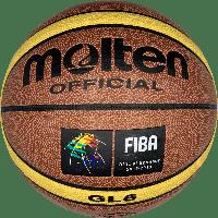 Баскетбольный мяч Molten GL6 NEW! (BA-4254), фото 1