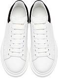 Женские кроссовки  в стиле Alexander McQueen Triple White Black, фото 7