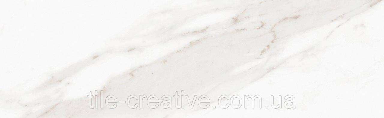 Керамическая плитка Дорато белый грань 8,5x28,5x9,2 9034