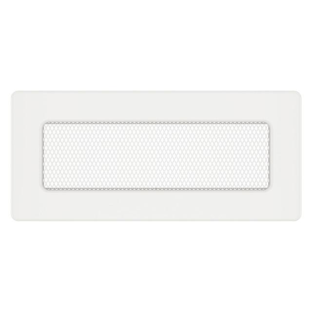 Вентиляционная решетка для камина SAVEN 11х24 белая