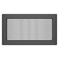 Вентиляционная решетка для камина SAVEN 17х30 графитовая