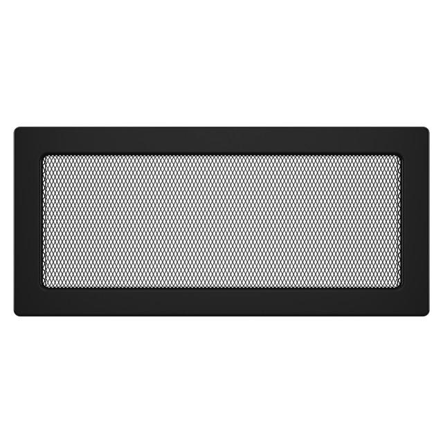 Вентиляционная решетка для камина SAVEN 17х37 черная