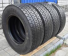 Грузовые шины б/у 285/70 R19.5 Continental HDR, ТЯГА, комплект