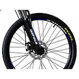"""Велосипед IMPULS RIO 24"""" черно-синий Рама 12"""" 2020г, фото 4"""