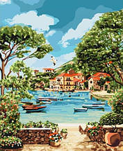 Картина по номерам Отдых в Бухте