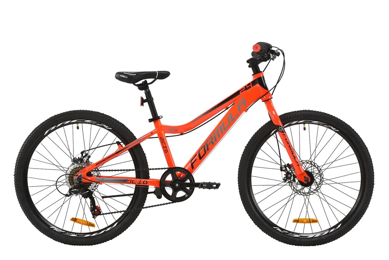 """Горный подростковый алюминиевый велосипед 24"""" Formula ACID 1.0 DD 2020 AL"""