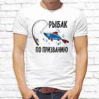 Футболка мужская c принтом. Печать на футболках
