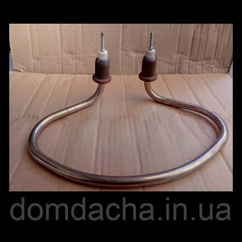 ТЕН котлової копито нержавійка d11мм 2. 5 кВт штуцер М22 Україна, фото 2