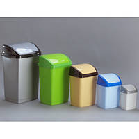 Ведро для мусора Горизонт Домик 1,7 л GR-02034