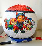 Пиньята - шар с сюрпризом Щенячий патруль 50 см, фото 3