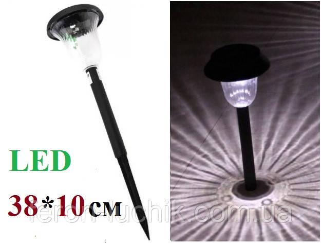 Газонный светильник на солнечной батарее Lemanso CAB119 садово парковый Черный