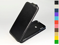 Откидной чехол из натуральной кожи для Huawei Honor 8C