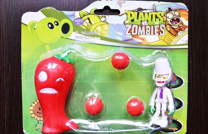 Игрушка Растения против зомби горохострел Фирменная упаковка Plants vs zombies