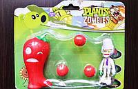 Іграшка Рослини проти зомбі горохострел Фірмова упаковка Plants vs zombies, фото 1