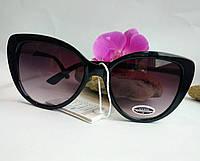 Солнцезащитные очки женские черного цвета Сat 3 (043), фото 1