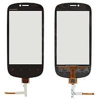 Сенсорный экран (touchscreen) для Huawei U8850 Vision, черный, оригинал