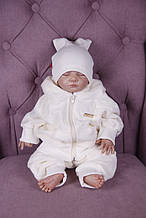 Костюм велюровый для новорожденных Фаворит (6-9 мес)