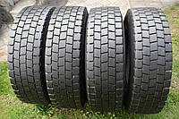 Грузовые шины б/у 235/75 R17.5 Michelin XDE, ТЯГА, комплект