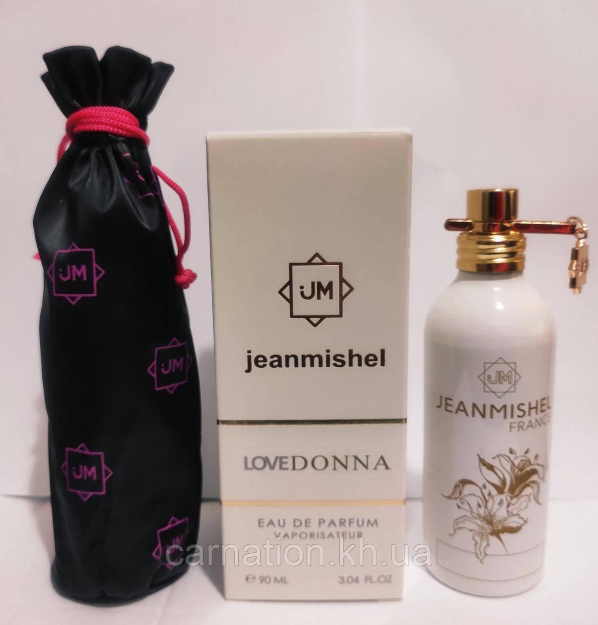 Жіноча парфумована вода Jeanmishel LoveDonna 90 мл