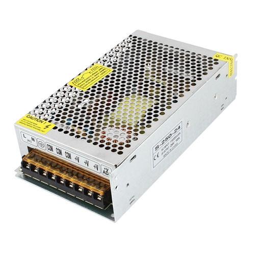 Блок питания перфорированный 12В 20А 240Вт, 3-кан для LED-лент CCTV