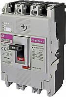 Авт. вимикач EB2S 160/3LF 80A (16kA, фікс./фікс.) 3P
