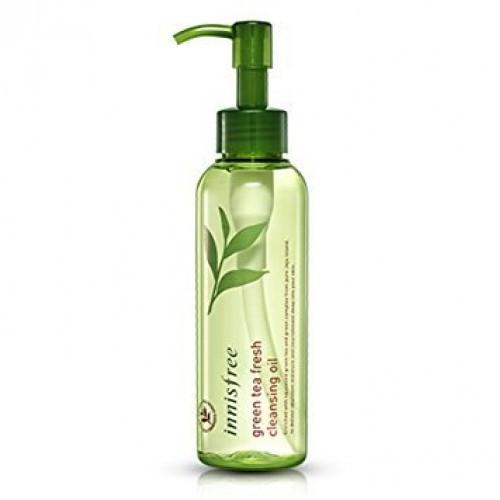 Гидрофильное масло с зеленым чаем Innisfree Green Tea Fresh Cleansing Oil