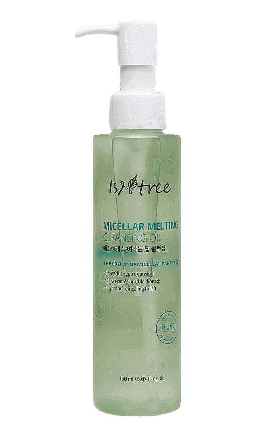 Мицеллярное гидрофильное масло IsNtree micellar melting cleansing oil 150 мл