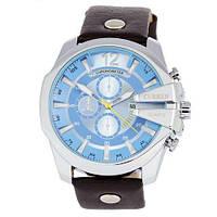 Часы мужские кварцевые водонепроницаемые Curren 8176-4 Silver-Black Blue