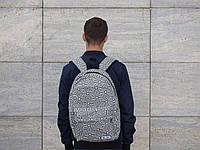 Рюкзак городской Зебра (Черно-белый) 30 л