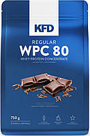 Протеин - Концентрат сывороточного протеина - KFD Nutrition regular WPC 80 - 750 г
