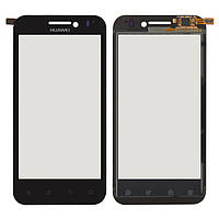 Touchscreen (сенсорный экран) для Huawei U8860 Honor, черный, оригинал