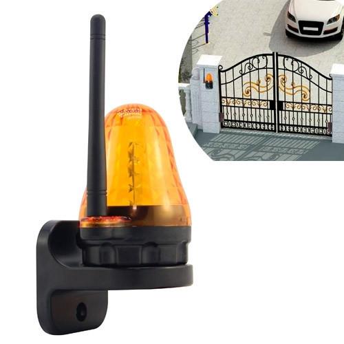 Сигнальная лампа для ворот с антенной LED 12-265В JD-06