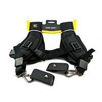 Плечевой ремень на 2 камеры, двойной наплечный