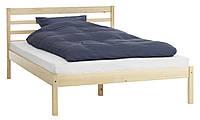 Кровать 160x200см масив сосни, фото 1