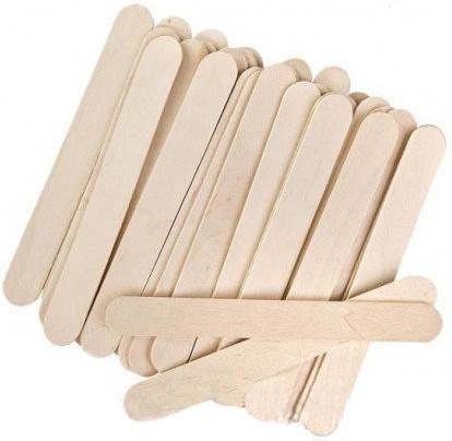 Шпатель деревянный 100 шт