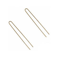 Шпильки для волос Eurostil коричневые 65 мм*20 шт