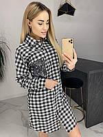 Платье-рубашка м98 48-52