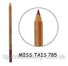 Карандаш для губ Miss Tais (Чехия) №785 бордово-т.розовый