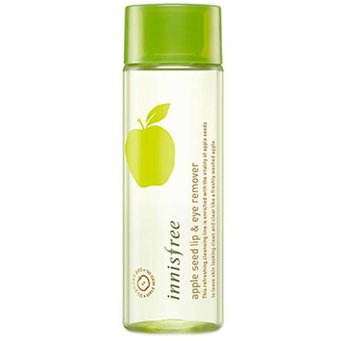 Средство для снятия макияжа с губ и глаз Innisfree Apple Seed Lip&Eye Makeup Remover